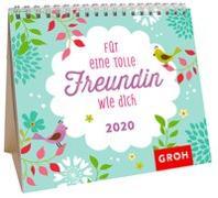 Cover-Bild zu Für eine tolle Freundin wie dich 2020: Mini-Monatskalender