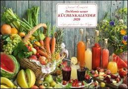 Cover-Bild zu DuMonts neuer Küchenkalender 2020 - Broschürenkalender - mit Rezepten und Gedichten - Format 42 x 29 cm