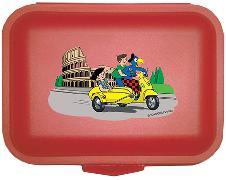 Cover-Bild zu Globi Lunchbox Rom rot