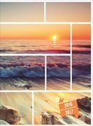 Cover-Bild zu Feelings daily A6 Sunset 2016/2017
