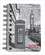 Cover-Bild zu Taschenagenda Twins London 2017