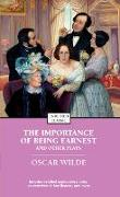 Cover-Bild zu The Importance of Being Earnest and Other Plays (eBook) von Wilde, Oscar