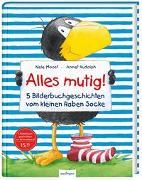 Cover-Bild zu Der kleine Rabe Socke: Alles mutig! 5 Bilderbuchgeschichten vom kleinen Raben Socke von Moost, Nele