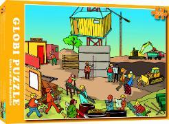 Cover-Bild zu Globi Puzzle. Globi auf der Baustelle