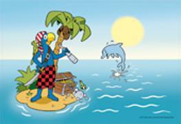 Cover-Bild zu Globi Tischset Pirateninsel