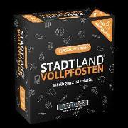Cover-Bild zu DENKRIESEN - STADT LAND VOLLPFOSTEN - Das Kartenspiel - Classic Edition von Denkriesen (Hrsg.)