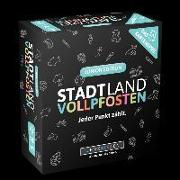 Cover-Bild zu DENKRIESEN - STADT LAND VOLLPFOSTEN - Das Kartenspiel - Junior Edition von Denkriesen (Hrsg.)