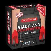 Cover-Bild zu DENKRIESEN - STADT LAND VOLLPFOSTEN - Das Kartenspiel - Rotlicht Edition von Denkriesen (Hrsg.)