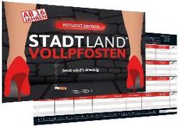 Cover-Bild zu STADT LAND VOLLPFOSTEN® - ROTLICHT EDITION - AB 16 JAHREN von Denkriesen (Illustr.)