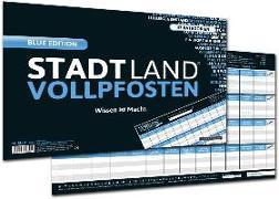 """Cover-Bild zu STADT LAND VOLLPFOSTEN® - BLUE EDITION - """"Wissen ist Macht"""" von Barreto, Ricardo"""