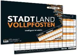 """Cover-Bild zu STADT LAND VOLLPFOSTEN® - CLASSIC EDITION - """"Intelligenz ist relativ"""" von Barreto, Ricardo"""