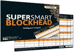 "Cover-Bild zu SUPER-SMART-BLOCKHEAD - ""Intelligence is relative"" von Barreto, Ricardo"