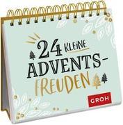 Cover-Bild zu 24 kleine Adventsfreuden von Groh Redaktionsteam (Hrsg.)