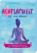 Cover-Bild zu Achtsamkeit für den Advent - 24 Karmakärtchen