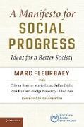 Cover-Bild zu Fleurbaey, Marc: A Manifesto for Social Progress