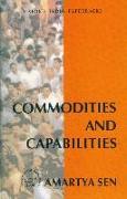 Cover-Bild zu Sen, Amartya: Commodities and Capabilities