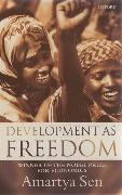 Cover-Bild zu Sen, Amartya: Development as Freedom