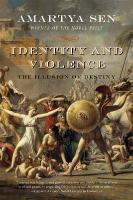 Cover-Bild zu Sen, Amartya: Identity and Violence: The Illusion of Destiny