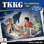 Cover-Bild zu TKKG 213 / Das unheimliche Dorf