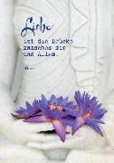 Cover-Bild zu Zintenz: Buddha-Karte: Liebe ist die Brücke