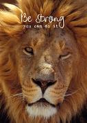 Cover-Bild zu Zintenz: Weisheits-Postkarte 32: Be strong - you can do it