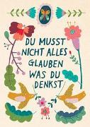 "Cover-Bild zu Zintenz: Claire Karte ""Glaub nicht"""