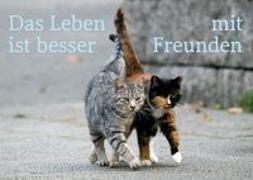 Cover-Bild zu ZintenZ: Weisheits-Postkarte: Das Leben ist besser mit Freunden