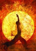 Cover-Bild zu Zintenz: Buddha-Karte: Sonnengruß