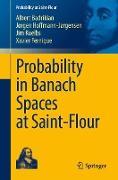 Cover-Bild zu Probability in Banach Spaces at Saint-Flour von Badrikian, Albert