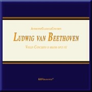 Cover-Bild zu Ludwig van Beethoven. Violin Concerto D Major Opus 61