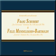 Cover-Bild zu Franz Schubert. Symphony No.8 B Minor 'The Unfinished'. F. Mendelssohn-Bartholdy. Symphony No.3 A Minor Opus. 56 ' Scottish'