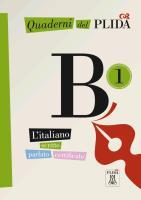 Cover-Bild zu Quaderni del PLIDA B1