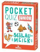 Cover-Bild zu Pocket Quiz junior Schlaumeier