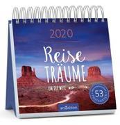 Cover-Bild zu Postkartenkalender Reiseträume um die Welt 2020