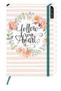 Cover-Bild zu myNOTES Follow your heart - Notizbuch medi für Träume, Pläne und Ideen / blanko