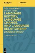 Cover-Bild zu Language History, Language Change, and Language Relationship (eBook) von Joseph, Brian D.