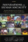 Cover-Bild zu Foundations of Human Sociality von Henrich, Joseph (Hrsg.)