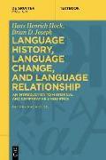 Cover-Bild zu Language History, Language Change, and Language Relationship von Hock, Hans Henrich