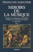 Cover-Bild zu Bd. 1: XV-XVIII siècles