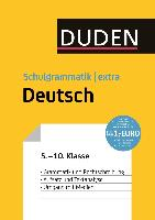 Cover-Bild zu Duden Schulgrammatik extra - Deutsch