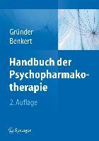 Cover-Bild zu Handbuch der Psychopharmakotherapie von Gründer, Gerhard (Hrsg.)
