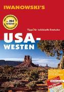 Cover-Bild zu USA-Westen - Reiseführer von Iwanowski von Brinke, Margit