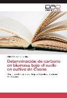 Cover-Bild zu Determinación de carbono en biomasa bajo el suelo en cultivo de Cacao von Trelles Fernandez, Cintia