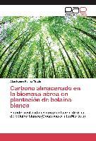 Cover-Bild zu Carbono almacenado en la biomasa aérea en plantación de bolaina blanca von Paima Tirado, Alan Kenny