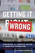 Cover-Bild zu Campbell, W. Joseph: Getting It Wrong