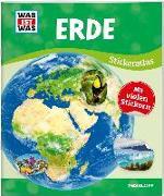 Cover-Bild zu WAS IST WAS Sticker-Atlas Erde