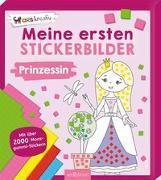 Cover-Bild zu Meine ersten Stickerbilder Prinzessin