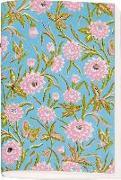 Cover-Bild zu Schöll, Stephan (Gestaltet): Gefährlich schön besticktes Notizheft klein Motiv Rosa Blüten