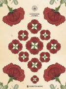 Cover-Bild zu Schöll, Stephan (Gestaltet): Kew Gardens Geschenkpapier-Heft - Motiv Mohnblume