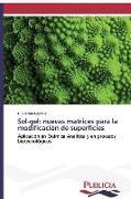Cover-Bild zu Sol-gel: nuevas matrices para la modificación de superficies von Copello, Guillermo